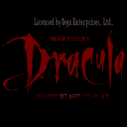 Bram Stoker's Dracula (combo pack 2.0 version) (U) Title Screen
