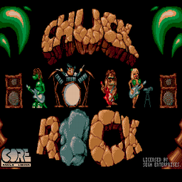 Chuck Rock (U) Title Screen
