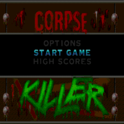 Corpse Killer (U) Title Screen