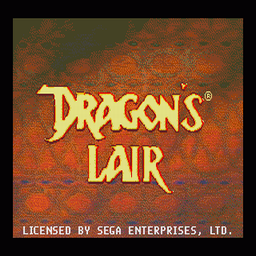 Dragon's Lair (U) Title Screen