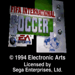 Fifa International Soccer (U) Title Screen