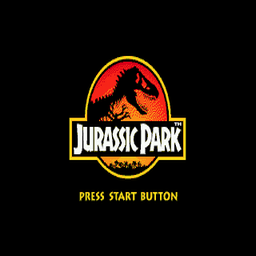 Jurassic Park (U) Title Screen