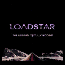Loadstar - The Legend of Tully Bodine (U) Title Screen