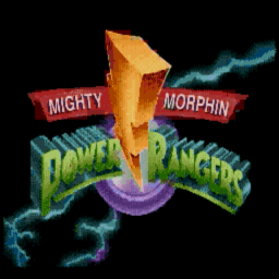 Mighty Morphin Power Rangers (U) Title Screen