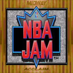 NBA Jam (U) Title Screen
