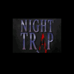 Night Trap (1994 Re-Release) (U) Title Screen