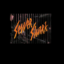 Sewer Shark (U) Title Screen