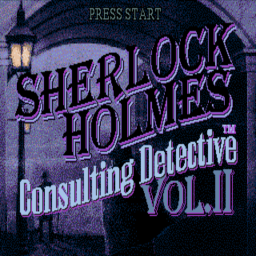 Sherlock Holmes - Consulting Detective Vol. II (U) Title Screen