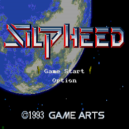 Silpheed (U) Title Screen