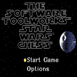Star Wars Chess (U) Title Screen