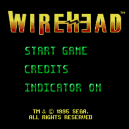 Wirehead (U) Title Screen