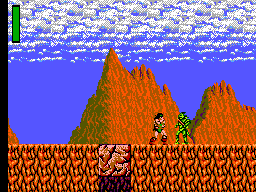Rastan Saga (Japan) In game screenshot