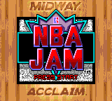 NBA Jam (USA, Europe) Title Screen