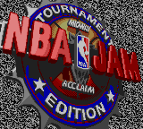 NBA Jam Tournament Edition (USA, Europe) Title Screen