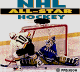 NHL All-Star Hockey (USA, Europe) Title Screen
