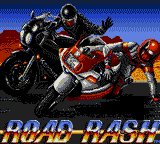 Road Rash (USA, Europe) Title Screen