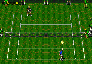 ATP Tour Championship Tennis (USA) In game screenshot