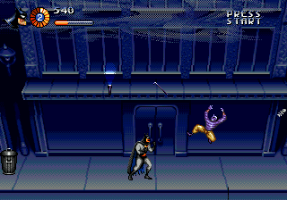 Adventures of Batman & Robin, The (Europe) In game screenshot