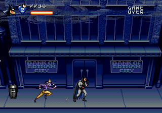 Adventures of Batman & Robin, The (USA) In game screenshot