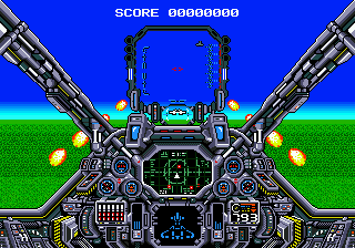 Air Diver (USA) In game screenshot