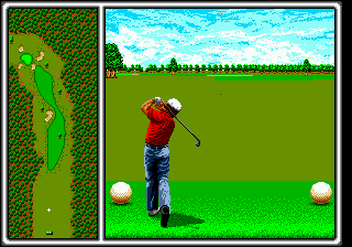 Arnold Palmer Tournament Golf (USA, Europe) In game screenshot