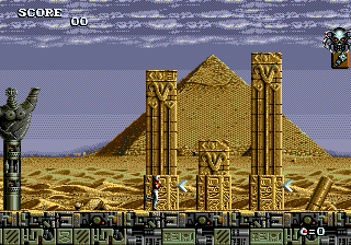 Atomic Runner (USA) In game screenshot