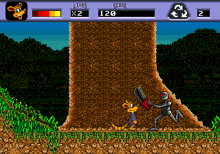 Awesome Possum (USA) In game screenshot