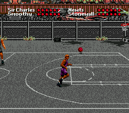 Barkley Shut Up and Jam! (USA, Europe) In game screenshot