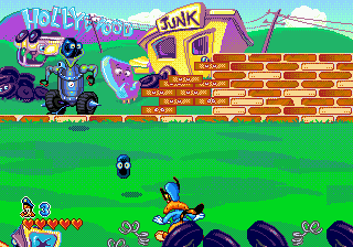 Bonkers (USA, Europe) In game screenshot