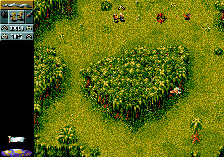 Cannon Fodder (Europe) In game screenshot