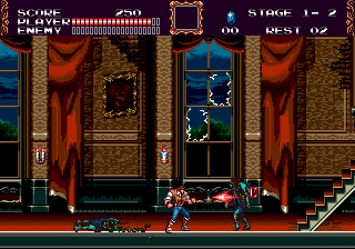 Castlevania - The New Generation (Europe) (Beta) In game screenshot