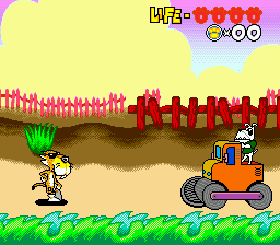 Chester Cheetah - Too Cool to Fool (USA) In game screenshot