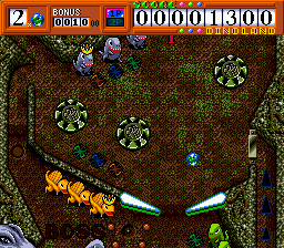 Chou Touryuu Retsuden Dino Land (Japan) In game screenshot