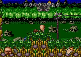 Chuck Rock II - Son of Chuck (USA) In game screenshot