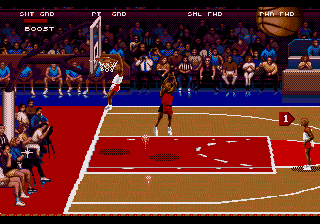 College Slam (USA) In game screenshot