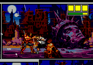 Comix Zone (USA) In game screenshot