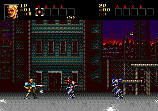 Contra - Hard Corps (USA) In game screenshot