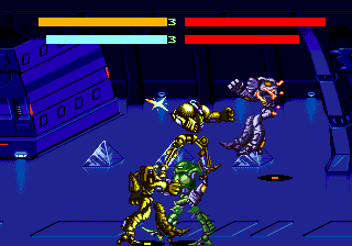 Cyborg Justice (USA, Europe) In game screenshot
