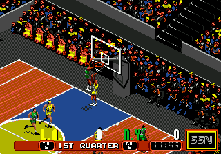 David Robinson's Supreme Court (USA, Europe) In game screenshot