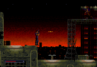 Demolition Man (USA, Europe) In game screenshot