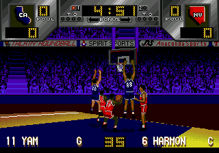 Dick Vitale's 'Awesome, Baby!' College Hoops (USA) In game screenshot