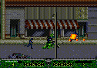 Dinosaurs for Hire (USA) In game screenshot