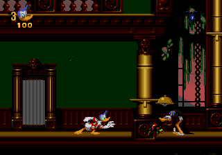 Donald in Maui Mallard (Europe) In game screenshot