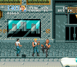Double Dragon 3 - The Arcade Game (USA, Europe) In game screenshot