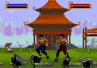 Dragon - The Bruce Lee Story (USA) In game screenshot