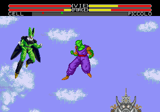 Dragon Ball Z - L'Appel du Destin (France) In game screenshot