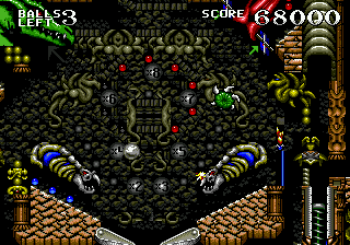 Dragon's Revenge (USA, Europe) In game screenshot