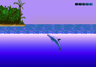 Ecco - The Tides of Time (USA) In game screenshot