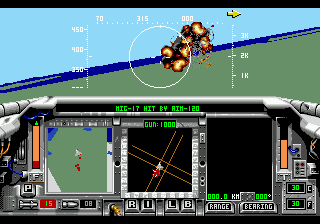 F-15 Strike Eagle II (USA) In game screenshot