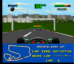 F1 - World Championship Edition (Europe) In game screenshot